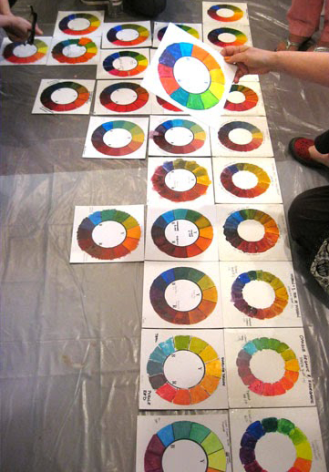 Color Wheel Project The Randall M Hasson Studio