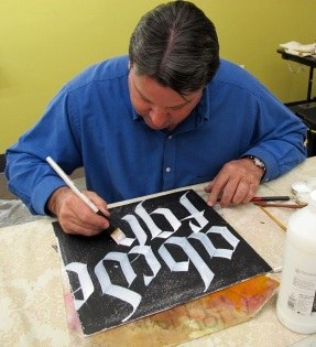 Randall Hasson - Lettering Demo